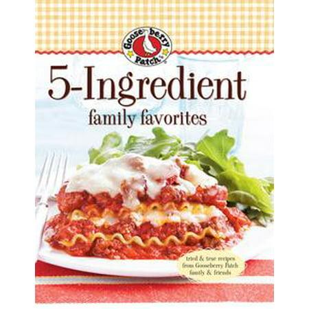 Gooseberry Patch 5-Ingredient Family Favorites - eBook (Gooseberry Patch Magazine Halloween)