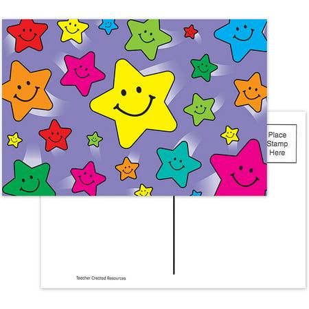 HAPPY STARS POSTCARDS 30PK](Happy Halloween Postcards)