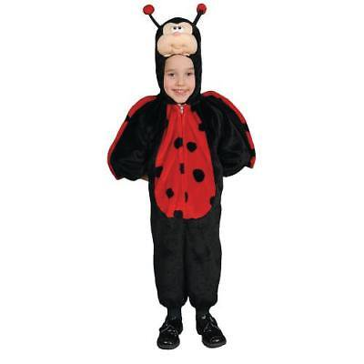 IN-13586819 Little Ladybug Halloween Costume for Toddler Girls TODDLER 4T