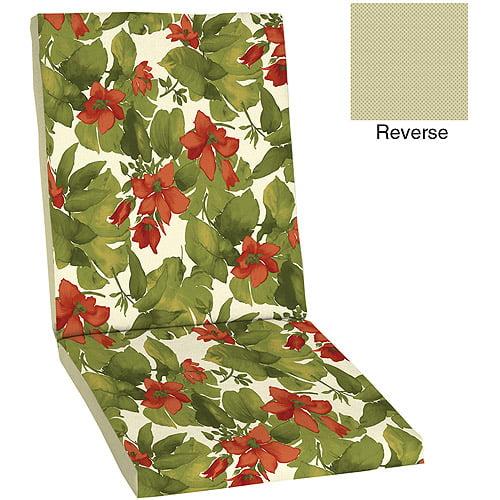 Mainstays Outdoor Chair Cushion, Josephine