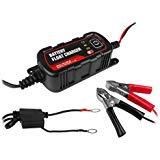 12v 6v 1.5A Sealed Lead Acid Battery Smart Charger for Automotive Marine Use