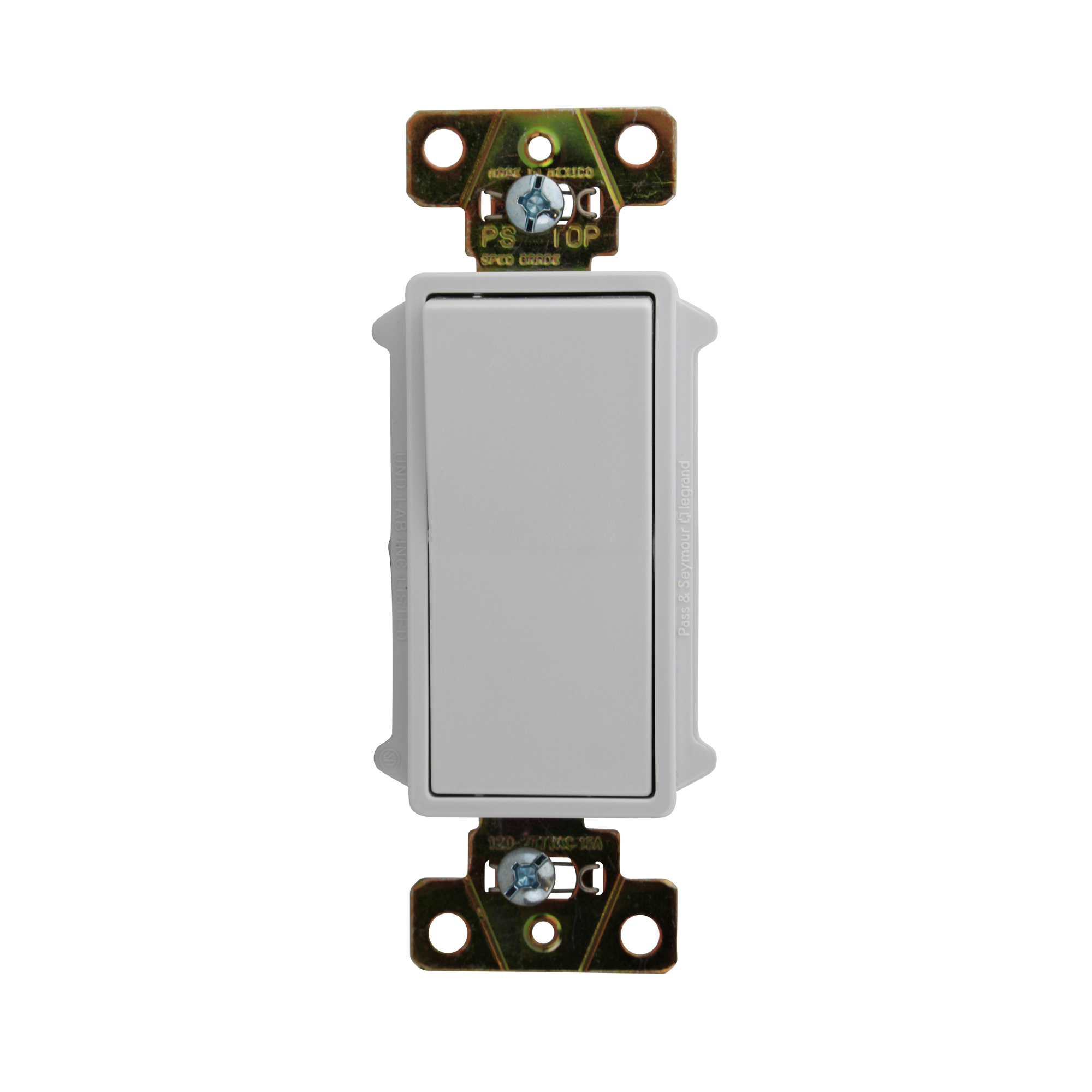 Legrand TradeMaster 15A120V Decorator Switch Four Way in White