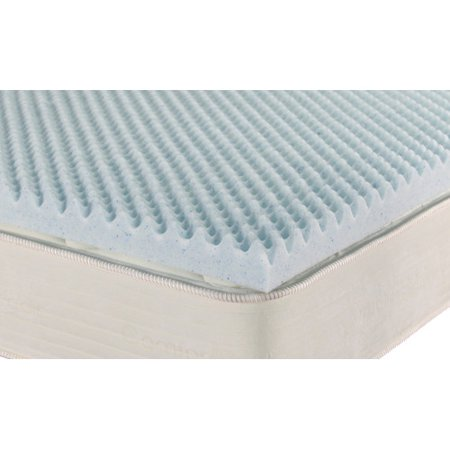 Brooklyn bedding ipedic convoluted gel memory foam topper for Brooklyn bedding topper