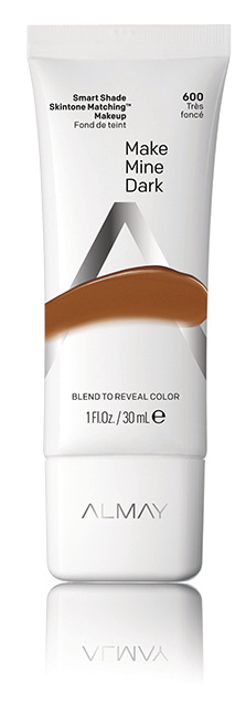 Almay Smart Shade Skintone Matching Makeup SPF 15, Make Mine Dark, 1oz