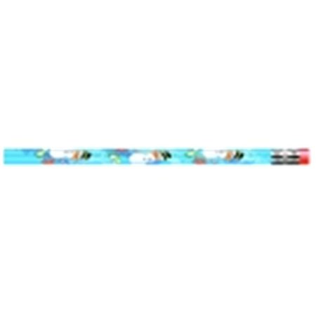 - Holiday Snowman Decorated Award Pencil With Erasers, Pack 12