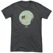 Et In The Moon Mens Tri-Blend Short Sleeve Shirt