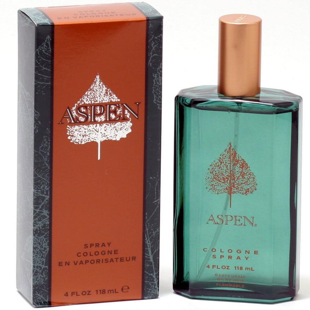 Aspen Cologne Spray for Men 4 oz (Pack of 6)