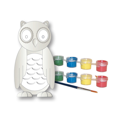 Sassafras Paint Your Own Garden Owl