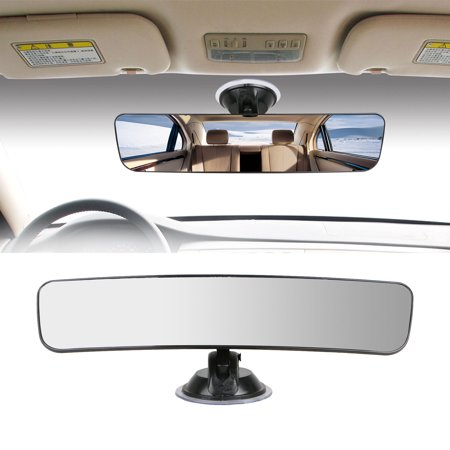 TSV 290mm Universal Car Wide Flat Interior Rear View Mirror Suction Stick