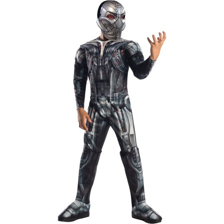 Avengers 2 Age of Ultron Deluxe Ultron Child Halloween Costume](Peru 2 Halloween)