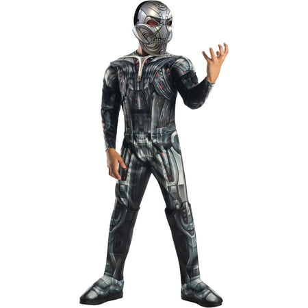 Avengers 2 Age of Ultron Deluxe Ultron Child Halloween Costume - Two Halloween Costumes