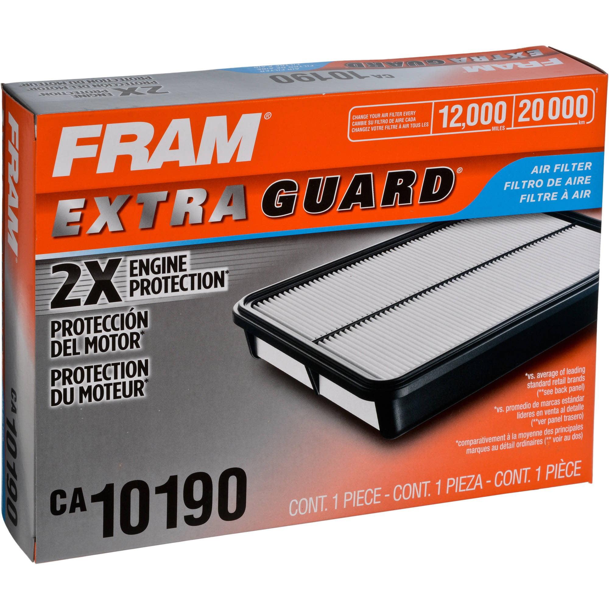 FRAM Extra Guard Air Filter, CA10190 by FRAM