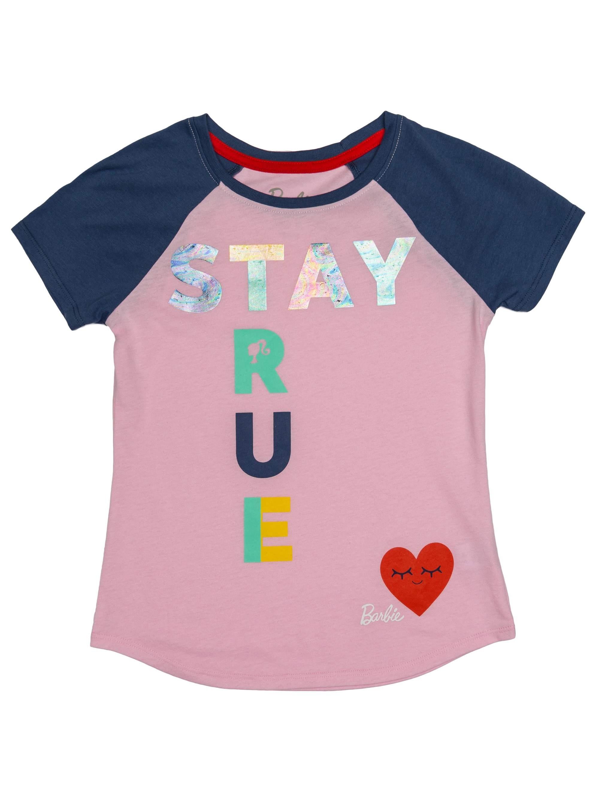 Stay True Foil Graphic Tee (Little Girls & Big Girls)