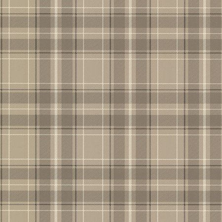 Plaid Wallpaper - Beacon House Caledonia Grey Plaid Wallpaper