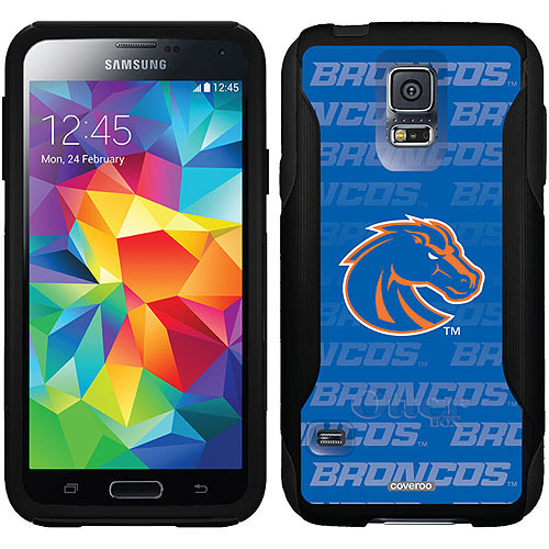 Boise State Repeating Blue Design on OtterBox Commuter Series Case for Samsung Galaxy S5