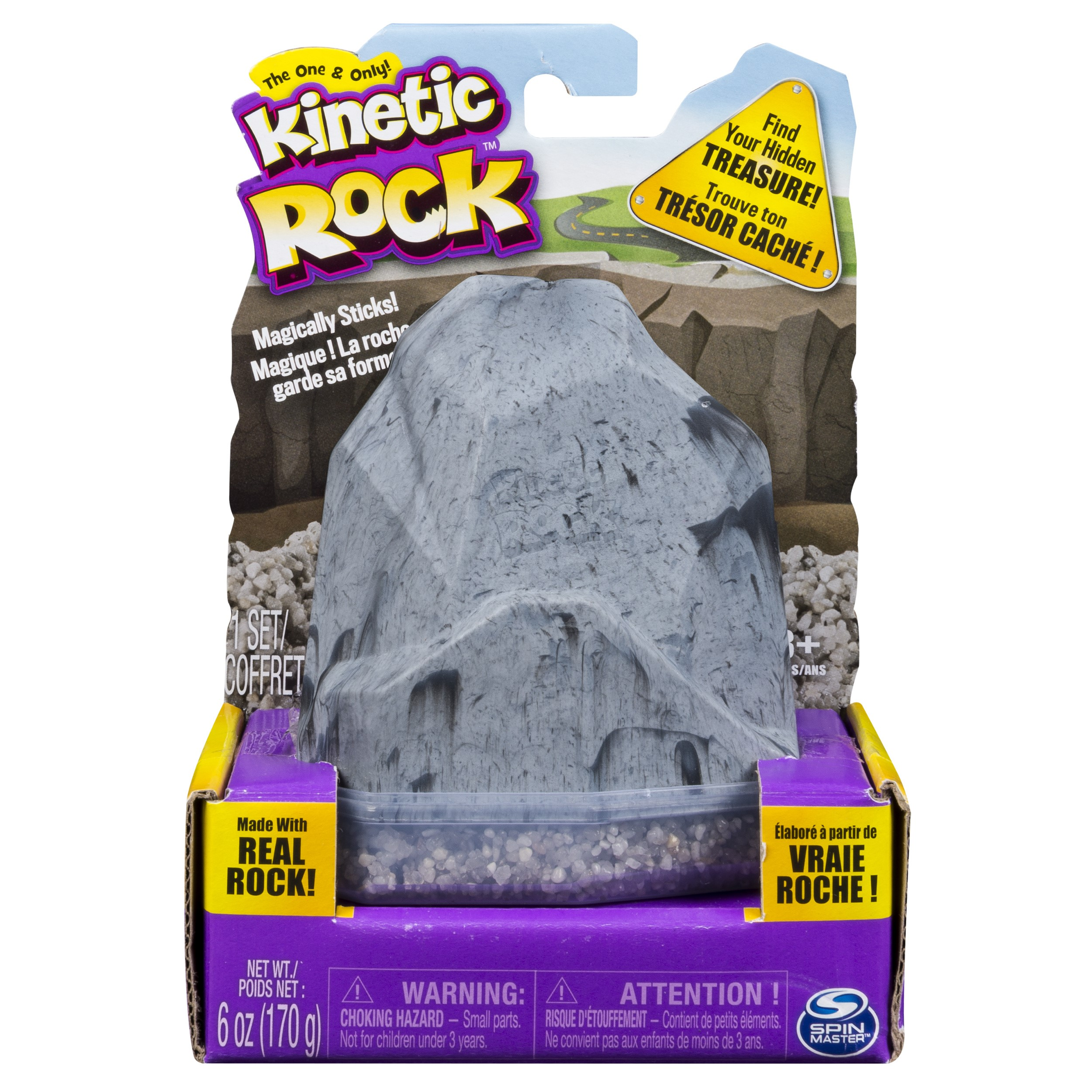 Kinetic Rock - Rock Pack - With Accessory - Grey