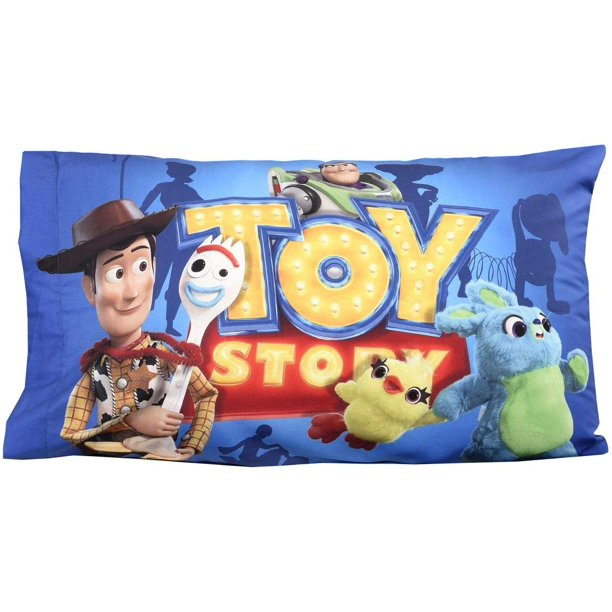pixar toy story 4 standard pillowcase for kids 20 x 30 inch 1 piece pillowcase only