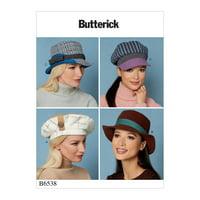 Butterick Pattern Misses' Hats-OSZ