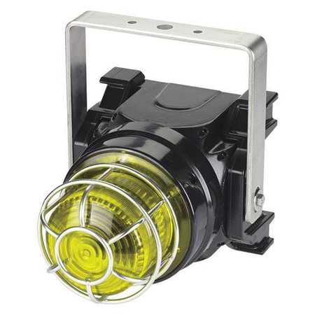 Strobe Light,Yellow,Xenon,1.50A FEDERAL SIGNAL G-STR-024-T-Y