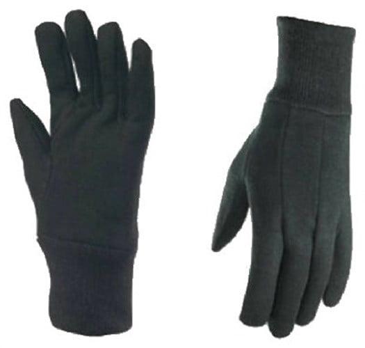 12 Pairs Wells Lamont Men/'s Work Gloves #508L  Size Large
