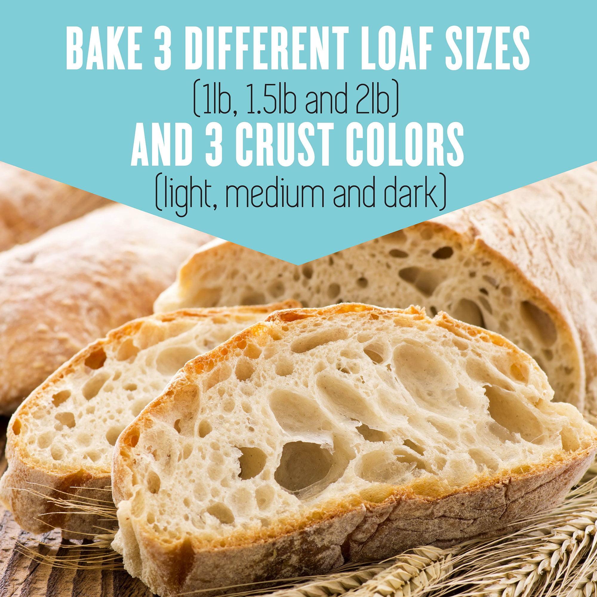 Breadman 2.5lb. Bakery Pro Bread Machine, Black/Stainless Steel ...