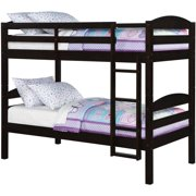 Better Homes and Gardens Leighton Twin Over Twin Wood Bunk Bed, Multiple  Finishes Image 3