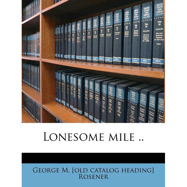 Eight Mile Alabama: Lonesome Mile ..