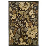Home Expressions Gabriel Area Rug, Brown