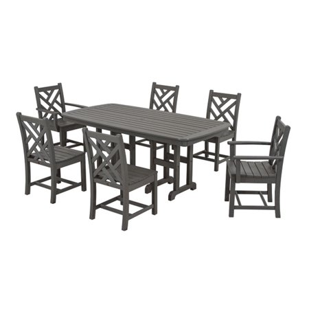 Eco Friendly Furnishings Table Chairs Dining Gray