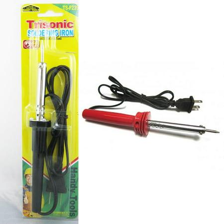 new soldering iron 40 watt 110v electric welding solder tool gun pencil craft. Black Bedroom Furniture Sets. Home Design Ideas