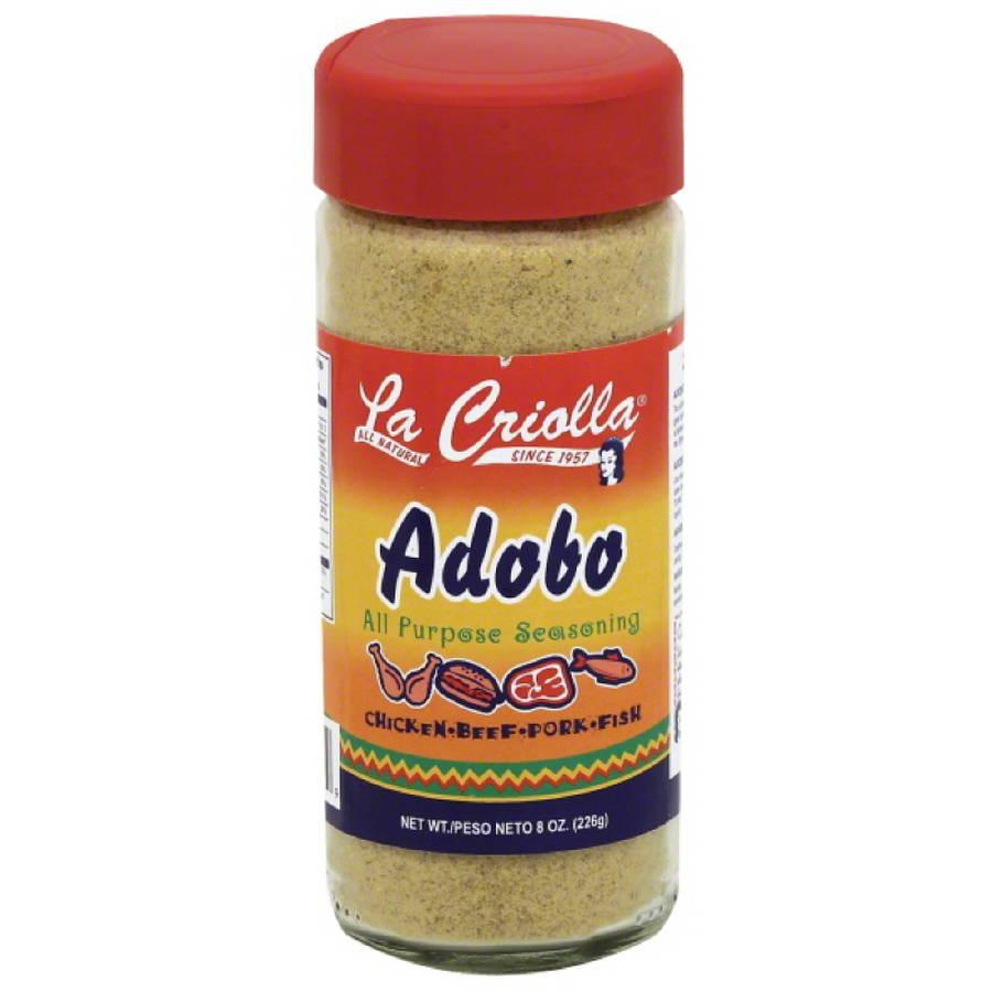 La Criolla Adobo All-Purpose Seasoning, 8 oz, (Pack of 12)