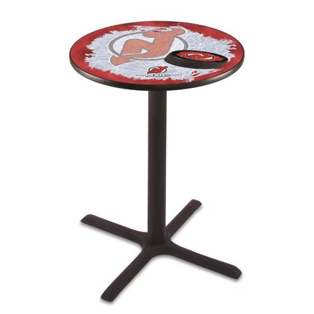 42 in. New Jersey Devils Pub Table with 36 in. Top, Black - image 1 of 1