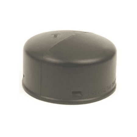 Image of Advanced Drainage Systems 0332AA 3 in. Solid Snap End Cap Black
