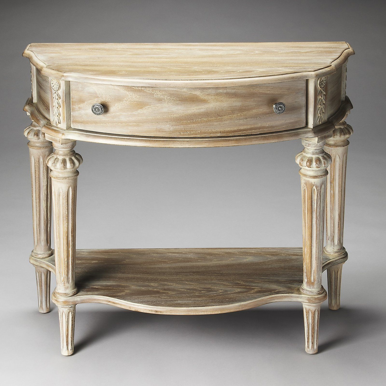 Butler Halifax Console Table - Driftwood