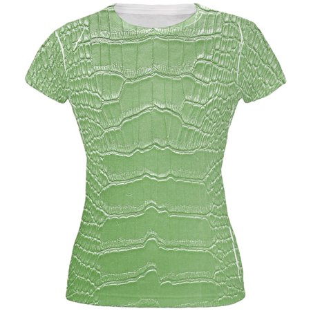 Halloween Alligator Costume All Over Juniors T Shirt - Names Related To Halloween