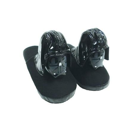 Star Wars Slippers Darth Vader Small - Star Wars Shoes Mens