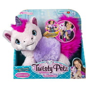 Twisty Petz Cuddlez, Snowpuff Unicorn Transforming Collectible Plush for Kids Aged 4 and Up