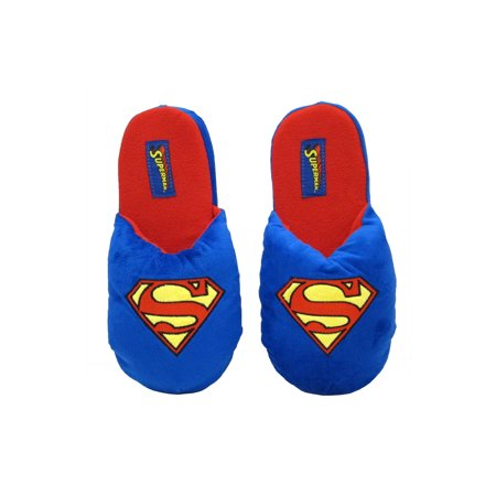 DC Comics Superhero Plush Slippers - Superman - Medium/Large for $<!---->