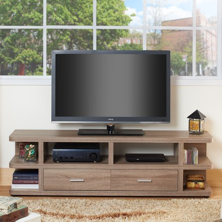 Furniture of America 2 Drawer Multi Storage TV Stand