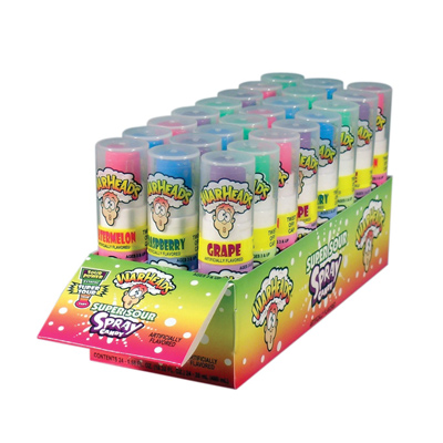 Warheads Super Sour Spray: 24 Count