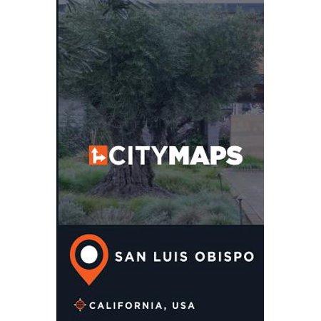 City Maps San Luis Obispo California, - San Luis Obispo Halloween Party