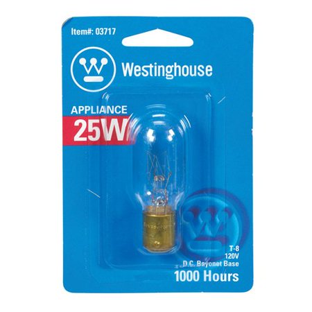Westinghouse Lighting 25W BA15d Dimmable Incandescent Edison Capsule Light Bulb