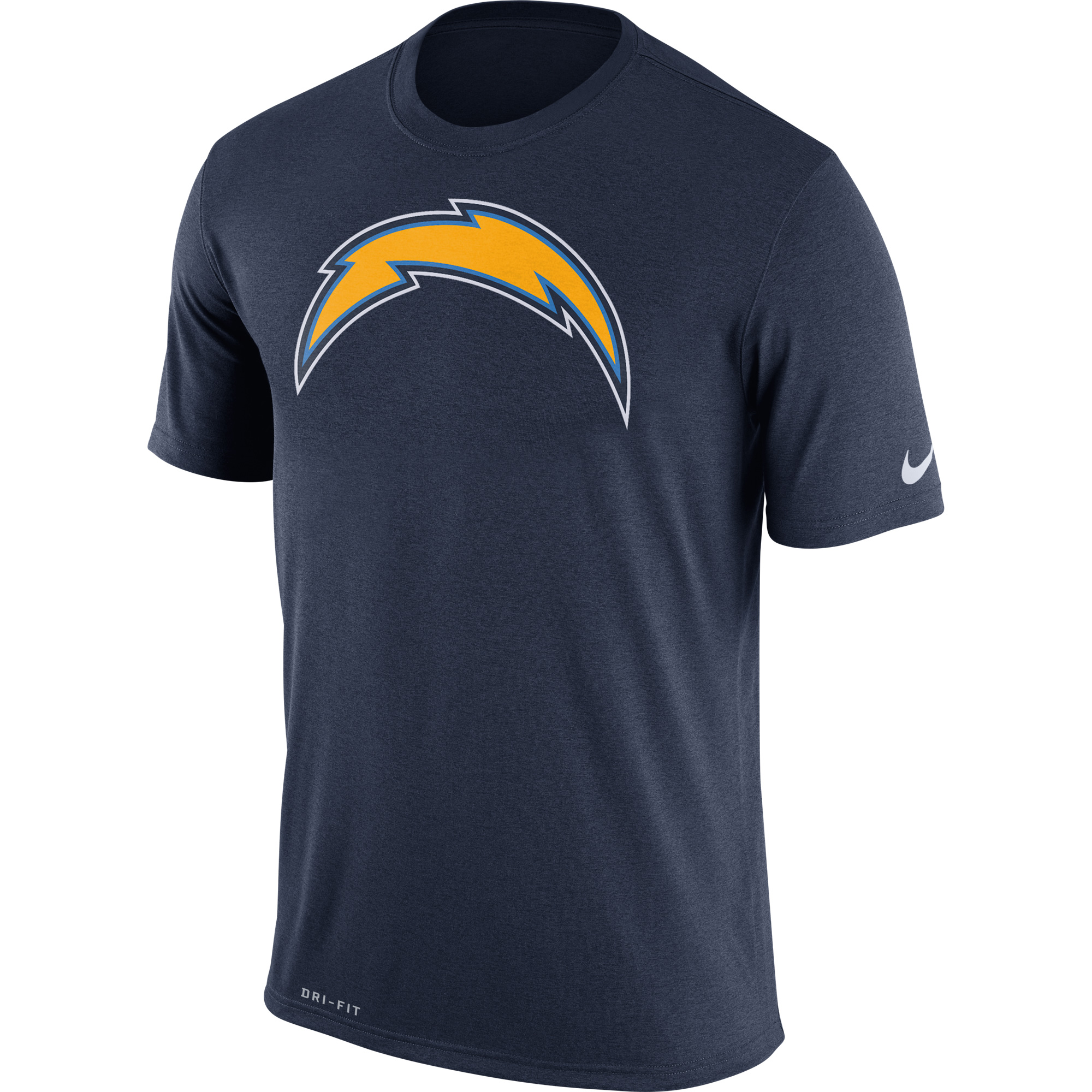 Los Angeles Chargers Nike Legend Performance Logo Essential 3 T-Shirt - Navy