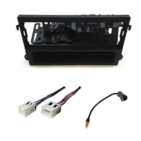 - ASC Audio Car Stereo Dash Kit, Wire Harness, and Antenna Adapter for installing a Single Din Radio for Nissan 1998-2002 Pathfinder, 2000-2004 Xterra, 1998-2004 Frontier