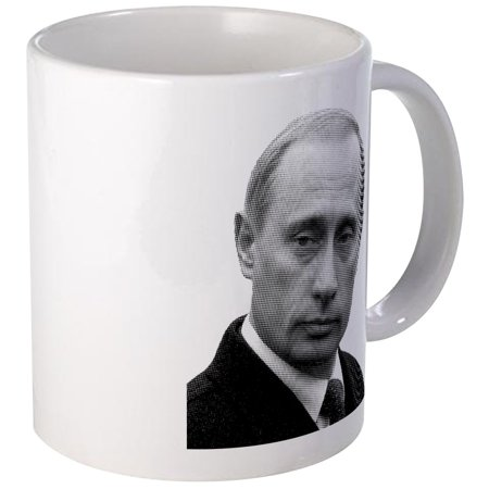 Cafepress   Vladimir Putin  Newspaper Print    Unique Coffee Mug  Coffee Cup Cafepress