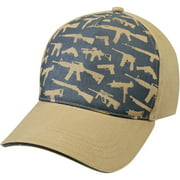 Best Cap Guns - Rothco Deluxe Khaki Guns Low Profile Cap Review