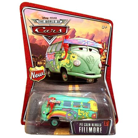 - Disney Cars Series 1 Pit Crew Member Fillmore Diecast Car