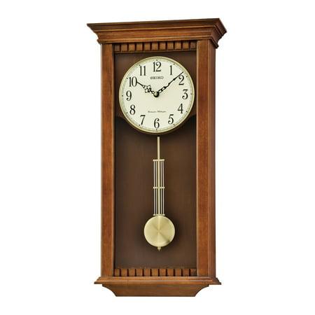 Seiko Wall Clock With Pendulum And Chime Walmart Com