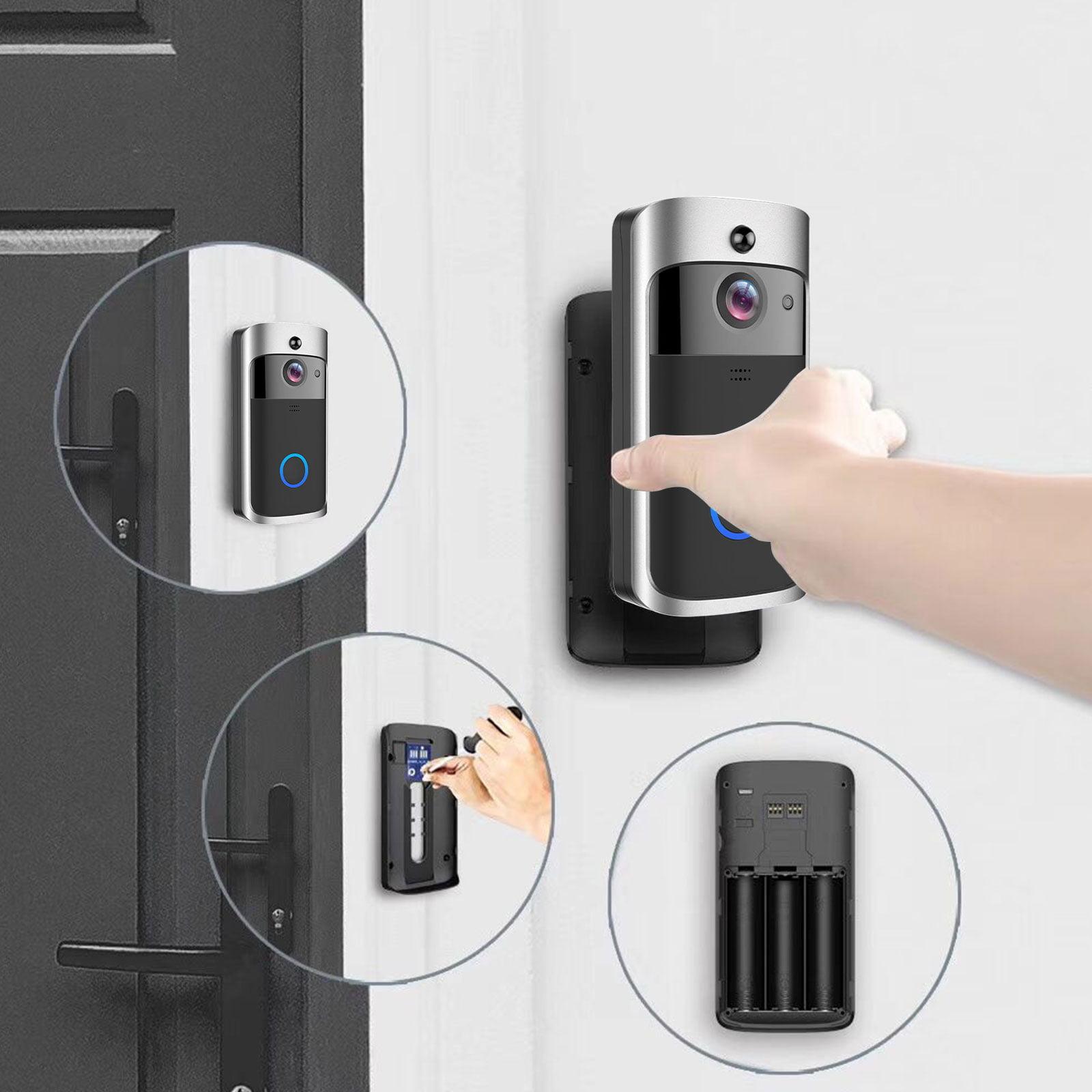 Video Doorbell, WiFi Smart Wireless Doorbell HD Security Camera Two