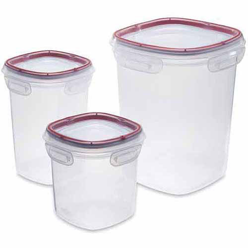Rubbermaid Lock-Its 6pc Food Storage Set